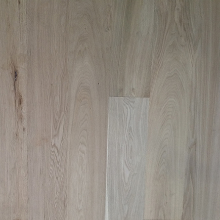 European Oak Contractor' s Choice Unfinished Smooth