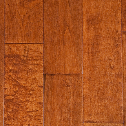 Garrison II Distressed syrup Maple Hardwood Flooring