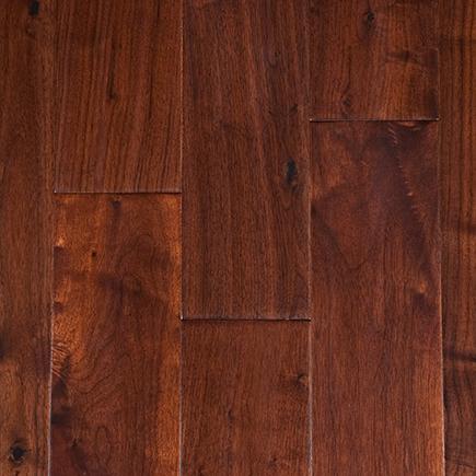 Garrison II Distressed Antique Walnut Hardwood Flooring