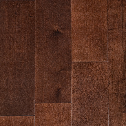 Garrison II Smooth Espresso Maple Hardwood Flooring