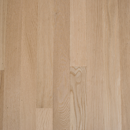 """Contractor's Choice White Oak 2 1/4"""" Unfinished Hardwood Flooring"""