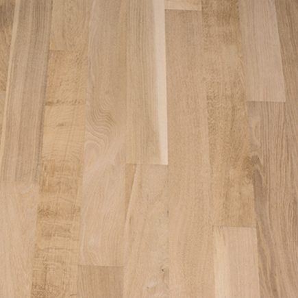 """Contractor's Choice White Oak 3 1/4"""" Unfinished Hardwood Flooring"""