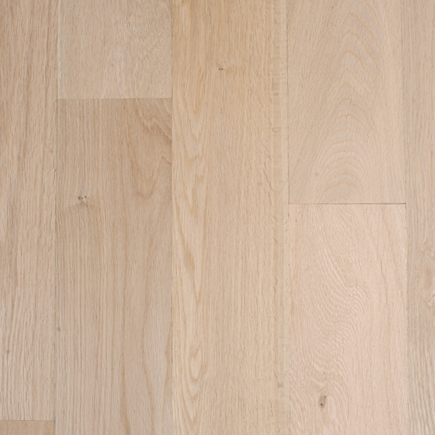 """Contractor's Choice White Oak 5"""" Unfinished Hardwood Flooring"""