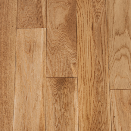 "Crystal Valley Red Oak Natural 3 ¼"" Engineered Flooring"