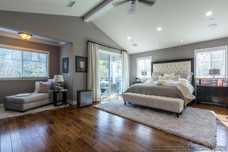 Natural Walnut Distressed Flooring - Installed By Sherman Oaks Home Builders in Studio City, CA