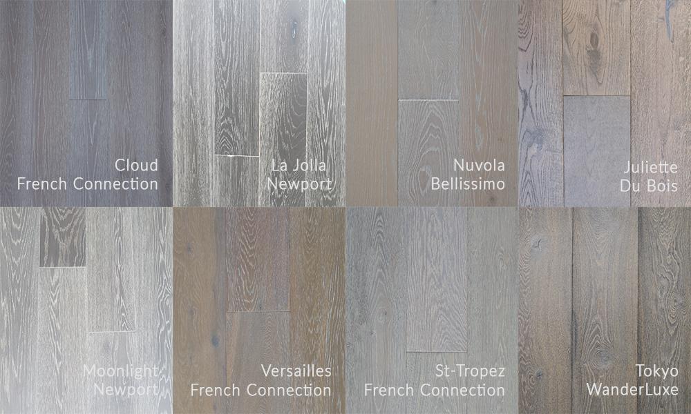 Garrison Collection European Oak Light Hardwood Flooring Wood Undertones