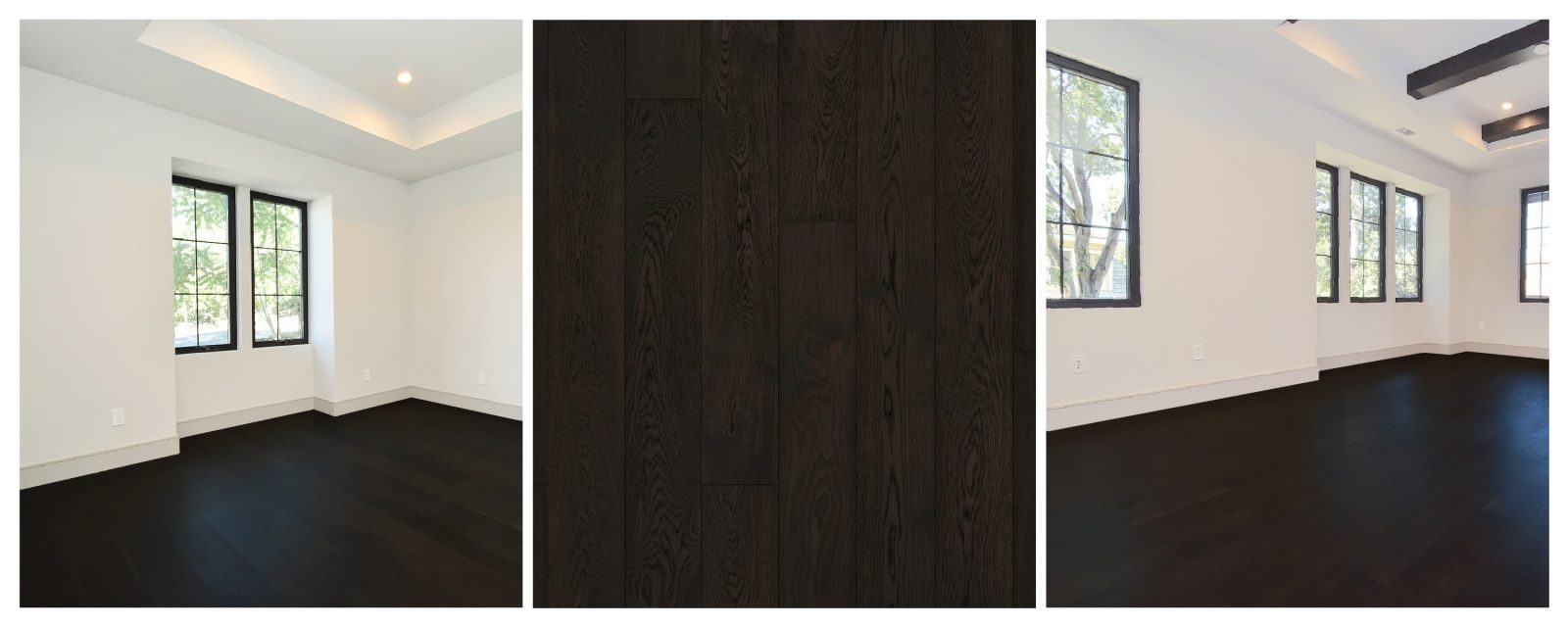 Hardwood Floor Trend - Black Hardwood Flooring